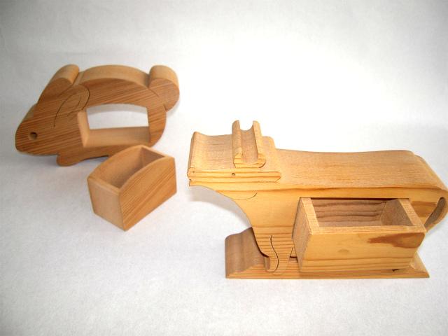 木の雑貨 小物入れ